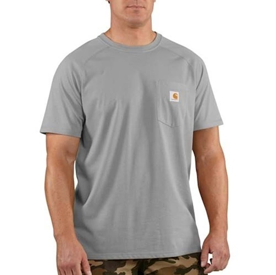 Carhartt Men's Force Cotton Short Sleeve T-Shirt Big & Tall