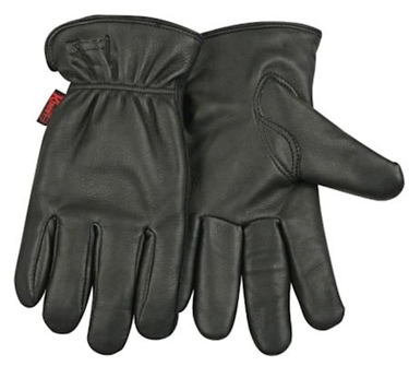 Kinco Men's HeatKeep Deerskin Driver Glove Black