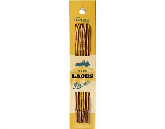 "Danner Men's 84"" Gold and Tan Boot Laces"