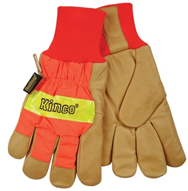 Kinco&#0174 High-Vis Orange Insulated Gloves