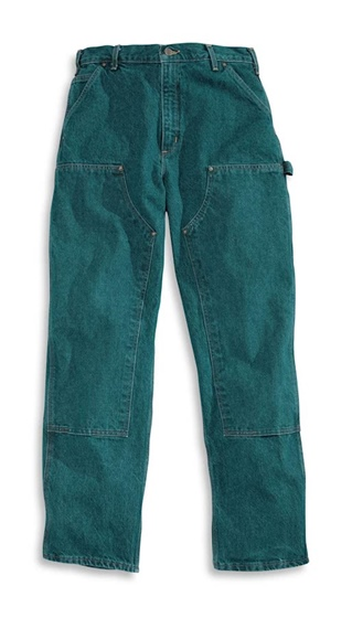 Carhartt Men's Loose Fit Double-Front Washed Logger