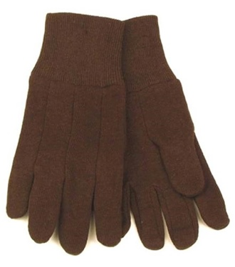 Kinco Men's Brown Jersey Glove