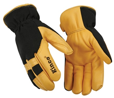 Kinco Men's Lined Driver Glove with Stretch Back