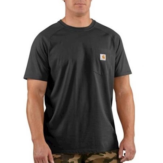 Carhartt Force Men's Cotton Delmont Short-Sleeve T-Shirt