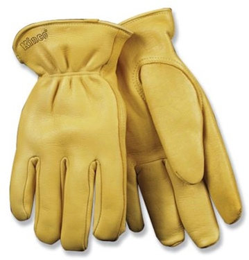 Kinco Men's Heatkeep Deerskin Driver Glove Natural