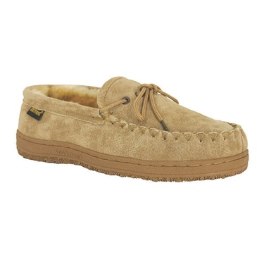 Old Friend Footwear Men's Loafer Moccasin with Sole