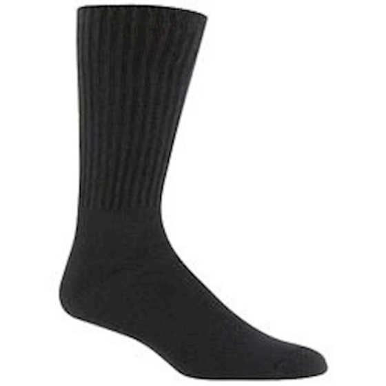 Railroad Sock Men's Black Crew Sock 3 Pack