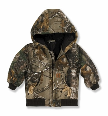 Carhartt Boy's Camo Active Jacket