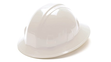 4-Pt Ratchet Full Brim Hardhat