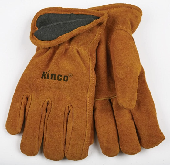 Lined Suede Cowhide Glove