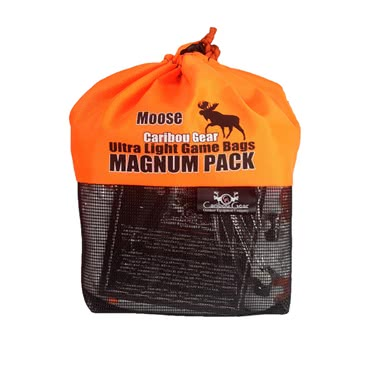 Caribou Gear Game Bag Packs Moose