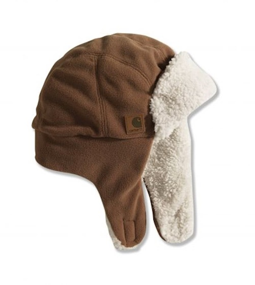 Carhartt Infant and Toddler Trapper Hat-Brown