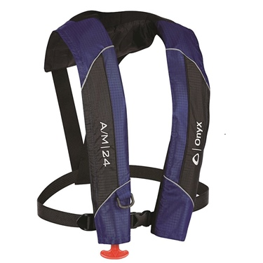 A/M-24 Auto/Manual Inflatable Life Jacket