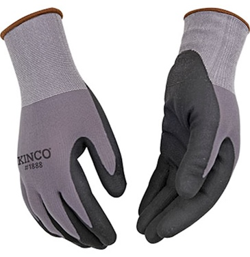 Kinco Nylon Knit Shell and Micro Foam Nitrile Palm Glove