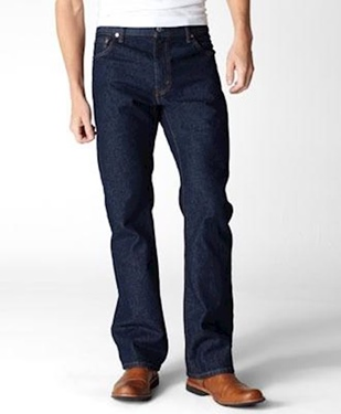 Levi's Men's 517 Rigid Boot Cut Jeans
