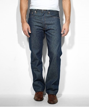 Levi's Men's 501 Shrink to Fit Jeans