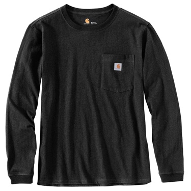 Carhartt Women's Wk126 Workwear Pocket Long Sleeve Tee