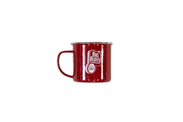 Big Ray's Retro Camp Mug - Red
