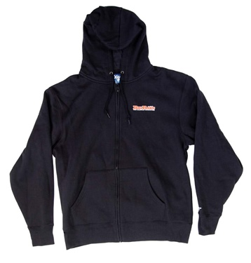 Big Ray's Men's Retro Full Zip Hoodie
