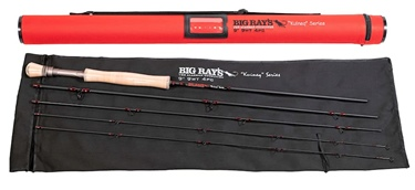 "Big Ray's ""Kuineq"" 9' 9Wt 4 Piece Fly Rod"