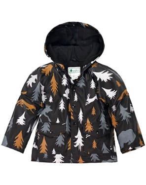 Oakiwear Kid's Rain Jacket - Wildlife