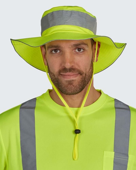 Utility Pro Hi-Vis Bucket Hat W/ Insect Guard