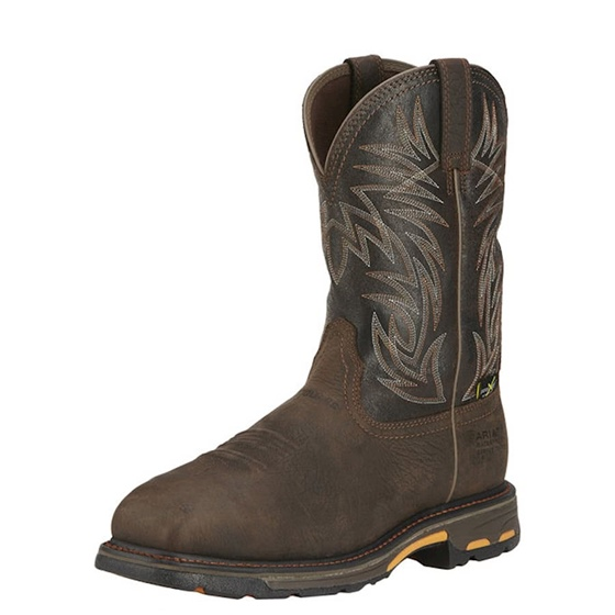 Ariat Men's Composite Toe Workhog with Metguard