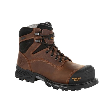 "Georgia Boot Men's 6"" Composite Toe Waterproof Rumbler"