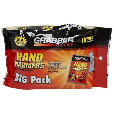Grabber Hand Warmer 7+Hour 10 Pack