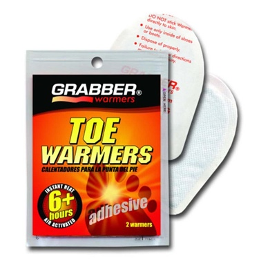 Grabber Toe Heaters - 8 Pack