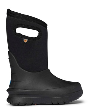 Bogs Kid's Neo Classic Solid Black