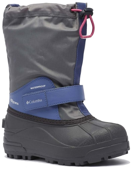 Columbia Kid's Powderbug Forty Boot-Solid