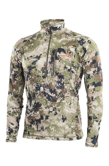 Sitka Gear Men's Core Mid Weight Zip-T