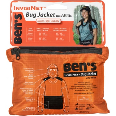 Ben's Invisinet Bug Jacket - L/XL