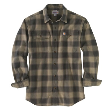 Carhartt Hubbard Long Sleeve Flannel Shirt - Big & Tall
