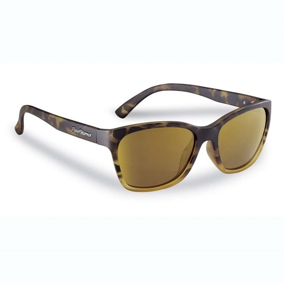 Flying Fisherman Ripple Sunglasses - Amber Gold Mirror