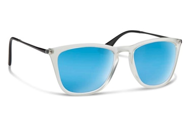 Forecast Optics Jesse - Matte Clear/Black Blue Mirror