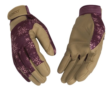 Kinco Women's Lined Synthetic Glove Burg