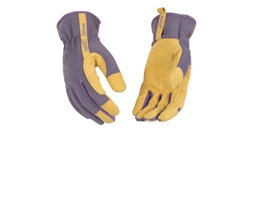 Kinco Women's Synthetic Leather W/Dots Glove