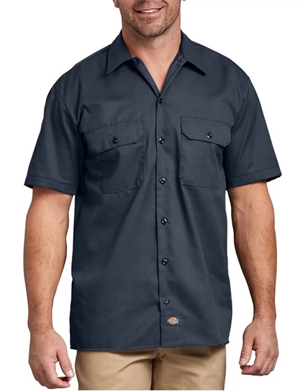 Dickies Men's Short Sleeve Work Shirt - B&T
