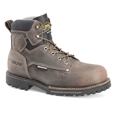 "6"" Carolina Waterproof Insulated Comp Toe Work Boot"