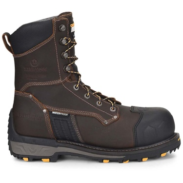 "8"" CAROLINA Waterproof Insulated Comp Toe Work Boot"