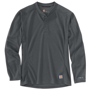 Carhartt Base Force Mdwght Henley Big & Tall