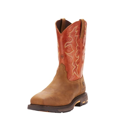 Ariat Men's Western Work S/T Workhog Wide Square Toe