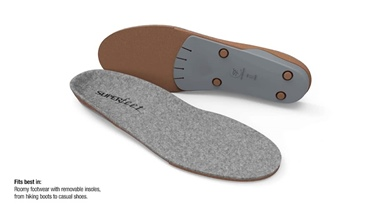 SUPERfeet&#0174 Merino Gray Insole