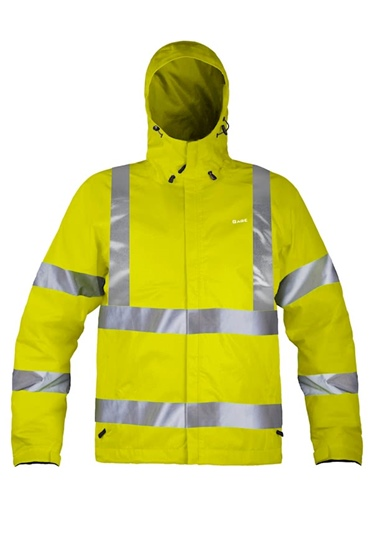 Grundens Men's Weather Watch Hooded High-Vis Jacket