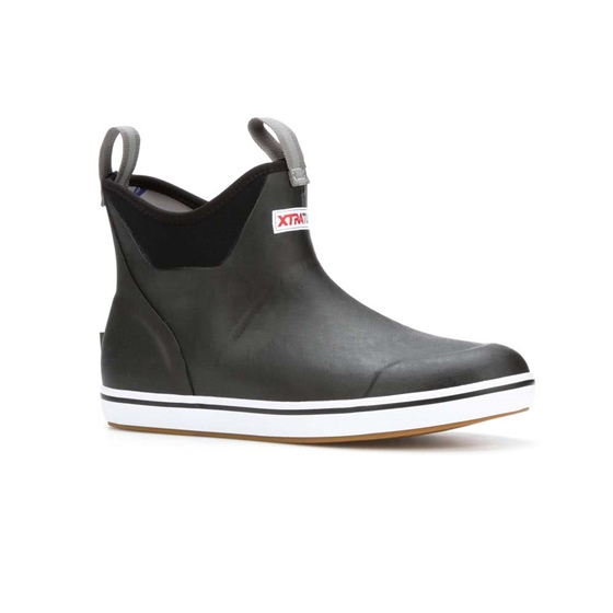 "Xtratuf 6"" Deck Boot- Black"