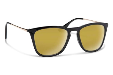 Forecast Optics Jesse -  Black/Gold Mirror Lens