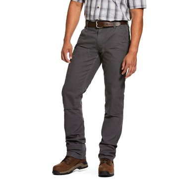 Ariat Rebar Made Tough Stretch Double Front Pant - Gray