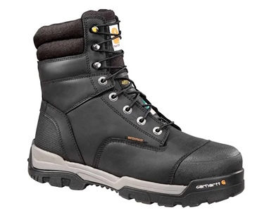 "Carhartt Men's 8"" Comp Toe Waterproof Insulated CSA boot"